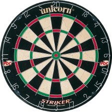 Unicorn Striker Bristle Dartboard PDC Endorsed