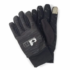 Ultimate Performance Reflective Gloves (Black Reflective) Small