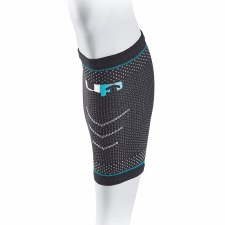 Ultimate Performance Elastic Compression Calf Support (Black Blue) Small