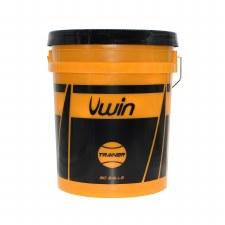 Uwin Tennis Trainer Bucket of 60 Balls (Yellow)