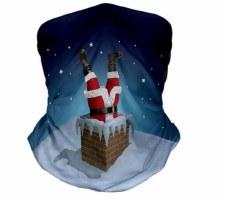 Stuck Santa Snood (Blue Multi)