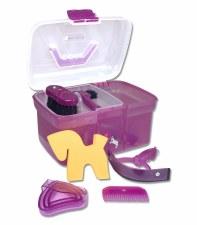 Waldhausen Grooming Box Happy Unicorn (Purple)