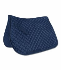 Walshausen Saddle Pad (Navy) Full