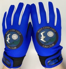 Atak West Clare Gaels Ladies Gaelic Gloves 5-6