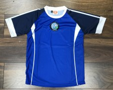 CS West Clare Gaels Training Jersey (Royal Navy White) Age 1-2