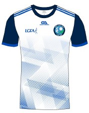 Gaelic Armour West Clare Gaels Training Jersey (White Navy Royal)