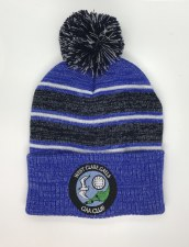 CS West Clare Gaels Bobble Hat (Melange Navy Royal White) OSFA
