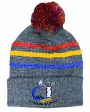 CS Western Gaels Bobble Hat (Melange Grey Multi) One Size