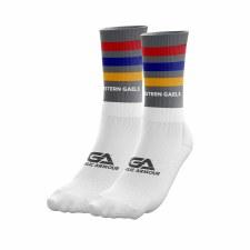 Gaelic Armour Western Gaels Midi Socks (Grey Multi) Large UK 8-11
