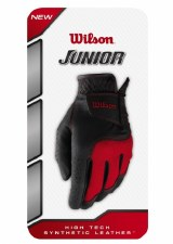 Wilson Junior Glove Left Hand (Red Black) MB