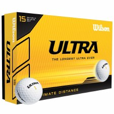 Wilson Ultra 15 Ball Pack (White)