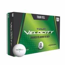 Wilson Tour Velocity Feel (White) 15 Pack