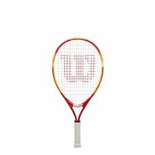 "Wilson US Open Junior Tennis Racket (Red Orange) 21"" Age 5-6"