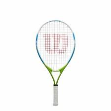 "Wilson US Open Junior Tennis Racket (Green Blue) 23"" Age 7-8"
