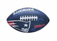 Wilson NFL Team Logo Patriots (Navy Red White) Junior