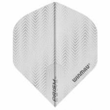 Winmau Prism Delta Flights (White)