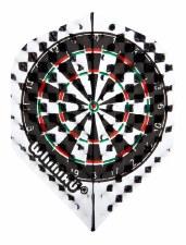 Winmau Embossed Dartboard (Silver)