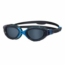 Zoggs Predator Flex Goggles (Navy Blue Smoke Lens) Adults Regular