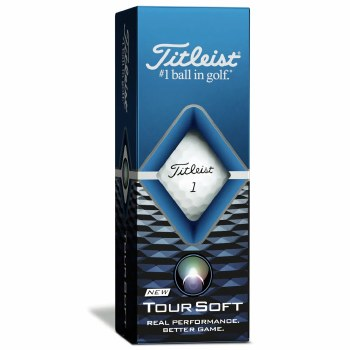 Titleist Tour Soft (White) 3 Pack