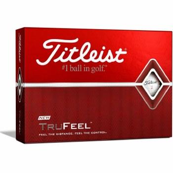 Titleist TruFeel (White) 3 Pack