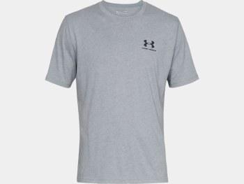 Under Armour Sportsstyle Short Sleeve Tee (Grey) Small