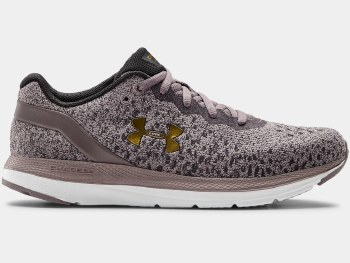 Under Armour Charged Impulse Knit (Purple Black Gold) 7