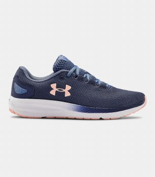Under Armour Charged Pursuit 2 (Navy Peach) 6.5