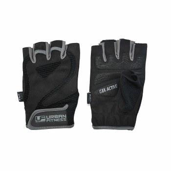 Urban Fitness Pro Gel Training Gloves (Black Grey) Small