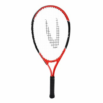 Uwin Champion Junior Tennis Racket (Red) 23inch