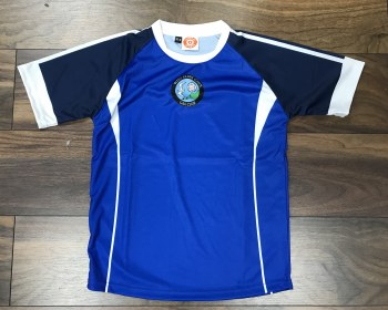 CS West Clare Gaels Training Jersey (Royal Navy White) Age 3-4