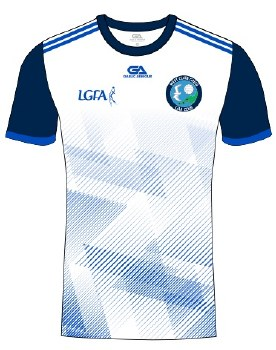 Gaelic Armour West Clare Gaels Training Jersey (White Navy Royal) 5-6