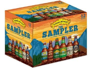 """Sierra Nevada """"The Sampler"""" Variety 12pk 12oz Bottles"""