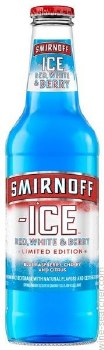 Smirnoff Ice Red White and Berry 24oz Bottle