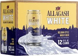 Allagash White Belgian Style Wheat Beer 12pk 12oz Cans