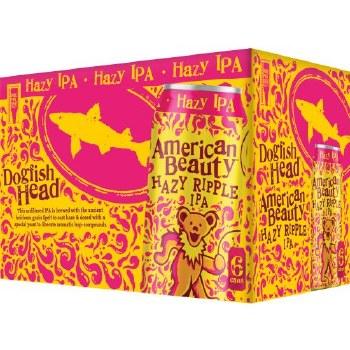 Dogfish Head American Beauty Hazy Ripple IPA 6pk 12oz Cans