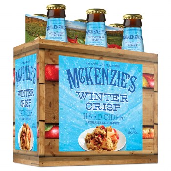 McKenzie's Apple Crisp Hard Cider 6pk 12oz Bottles