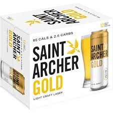 Saint Archer Gold 12pk 12oz Cans
