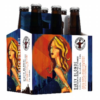 Atwater Dirty Blonde Wheat Ale With Orange Peel & Coriander 6pk 12oz Bottles