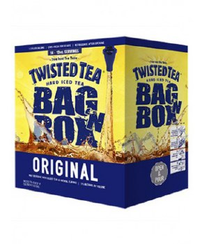 "Twisted Tea Original 1.3 Gallon Bag ""N"" Box"