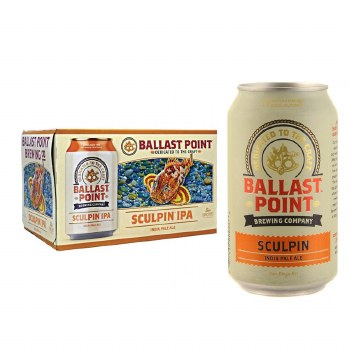 Ballast Point Sculpin IPA 6pk 12oz Cans
