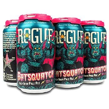 Rogue Batsquatch Hazy IPA 6pk 12oz Cans