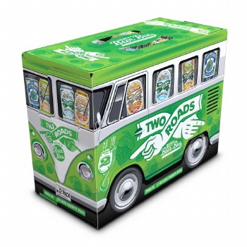 Two Roads Hoppy Beer Bus Variety 12pk 12oz Cans