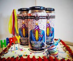 Rusty Rail Birthday Suit Birthday Cake Inspired Ale 4pk 16oz Cans