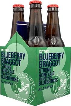 Flying Fish Blueberry Braggot Strong Honey Ale 4pk 12oz Bottles