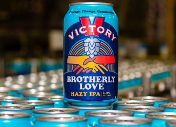 Victory Brotherly Love Hazy IPA 6pk 2oz Cans