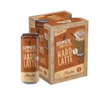 Brown Bomber Hard Latte 4pk 11oz Cans