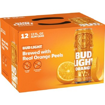 Bud Light Orange 12pk 12oz Cans