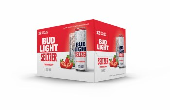 Bud Light Seltzer Strawberry 12pk 12oz Cans
