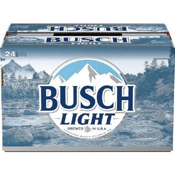 Busch Light 24pk 12oz Bottles