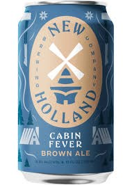 New Holland Cabin Fever Brown Ale 12oz Can